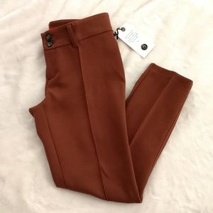 NWOT [ Anthro ] Pintucked Ponte Charlie Trousers